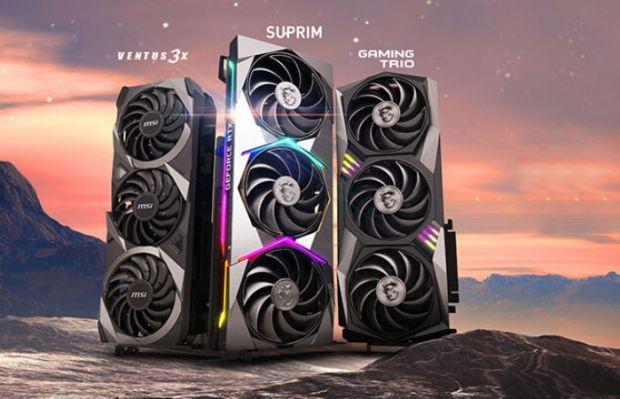 MSI GeForce RTX 30 Ti GPU