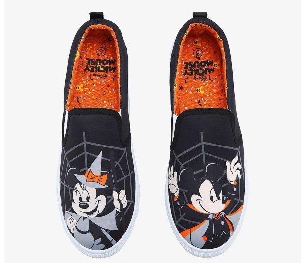 MIckeyAndMinnieHalloweenShoes