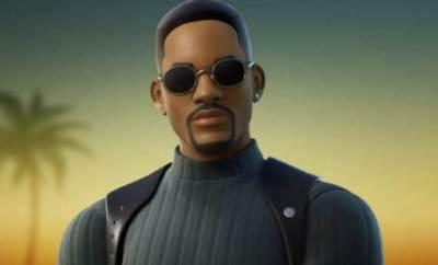 Will Smith in fornite