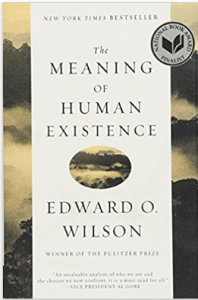 Image of book cover for E. O. Wilson's The Meaning of Human Existence