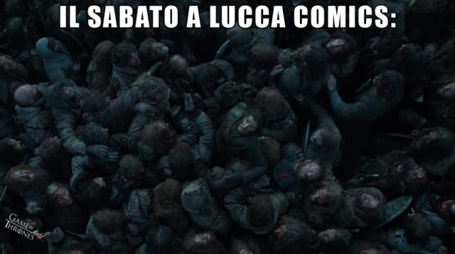 luccacomics game of thrones