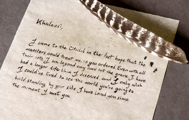 Jorah letter