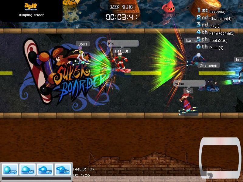hoverboard asdf online games