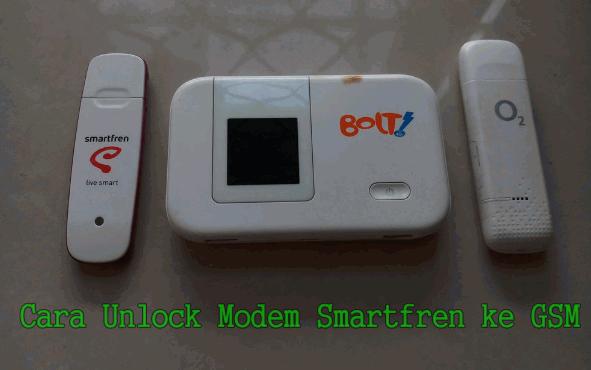 Cara Unlock Modem Smartfren Ke GSM