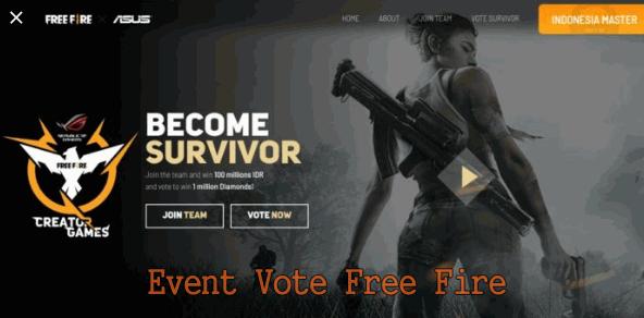 Event Vote Free Fire