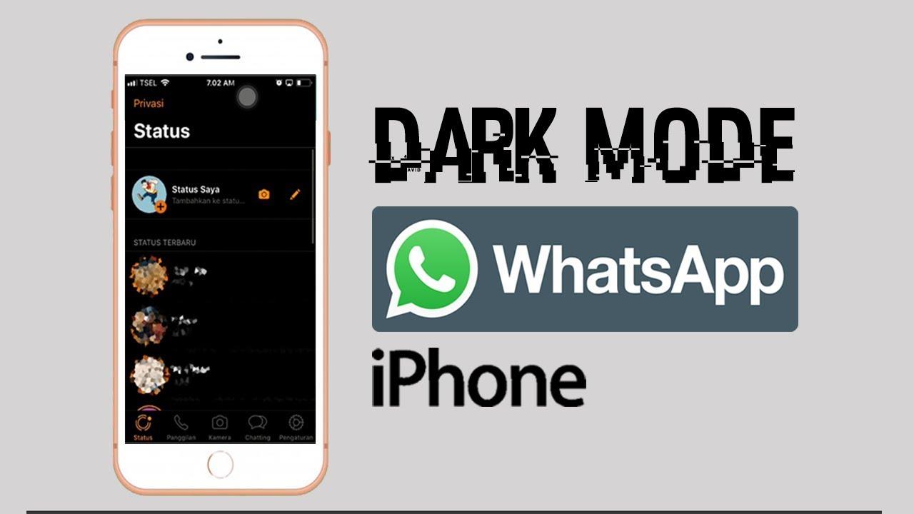 Cara Membuat Dark Mode Whatsapp