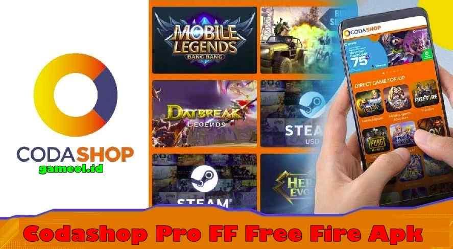 Download Codashop Pro FF Free Fire Apk