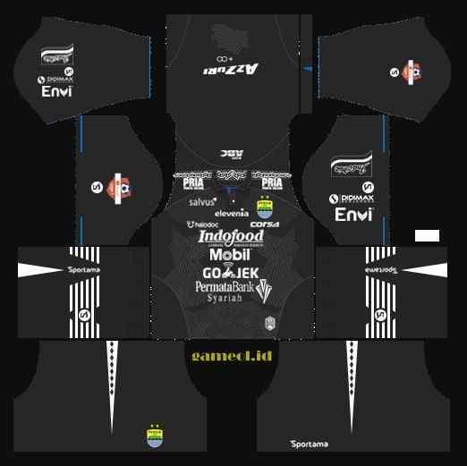 Kit Dls Persib Third 2020