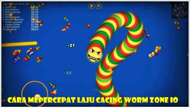 Cara Mepercepat Laju Cacing Worm Zone Io