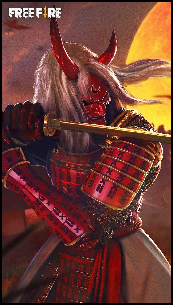 Wallpaper Zombie Samurai Ff Min
