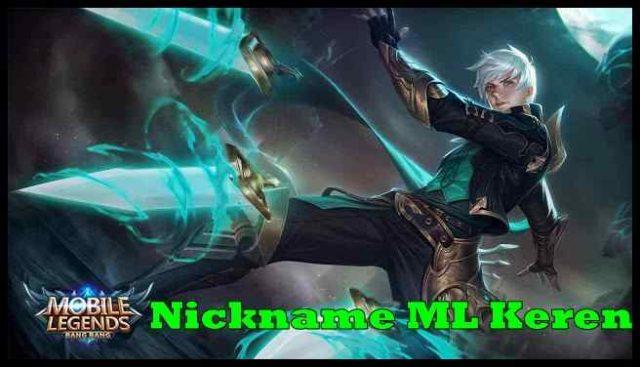 Nickname ML Keren