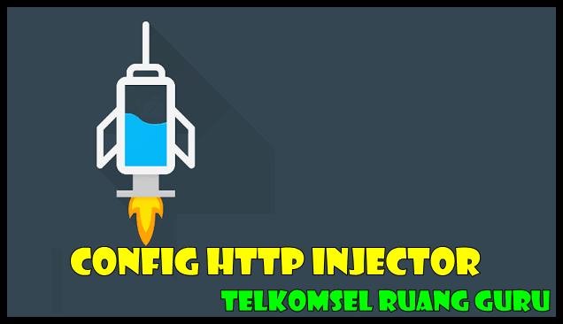 Config HTTP Injector Telkomsel Ruang Guru