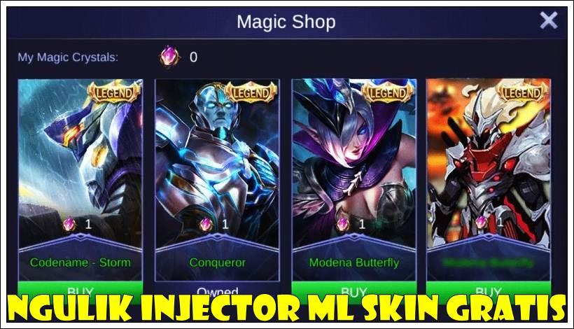 Download Ngulik Mobile Legends Injector Apk