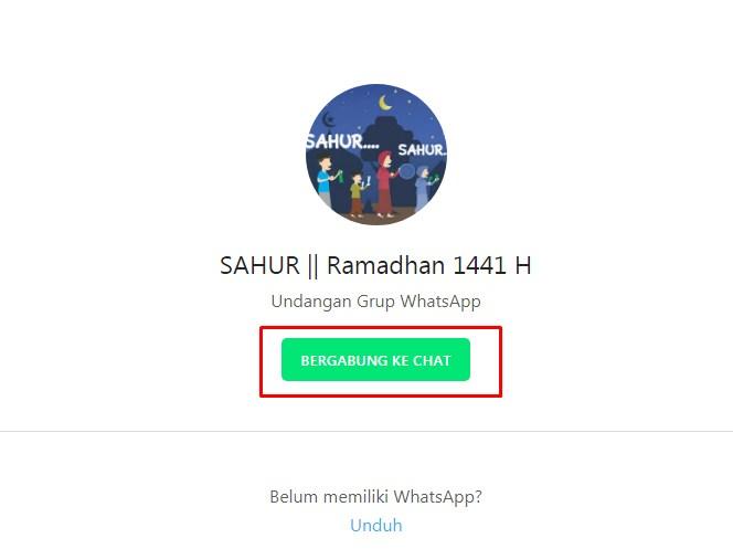 Link Grup Wa Ramadhan 2020