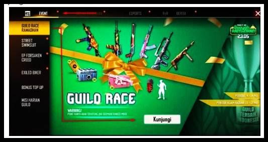 Event Guild Race Free Fire