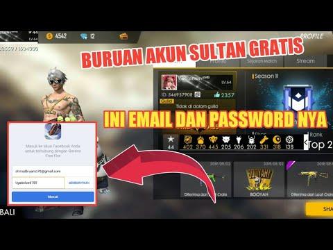 Akun Sultan FF Gratis Dari Facebook
