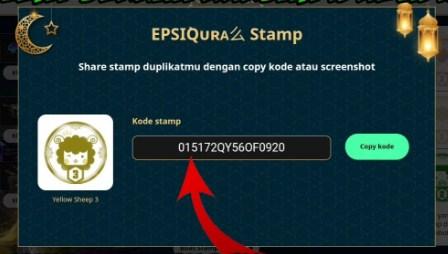 Kode Stamp FF Event Berkah Kurban