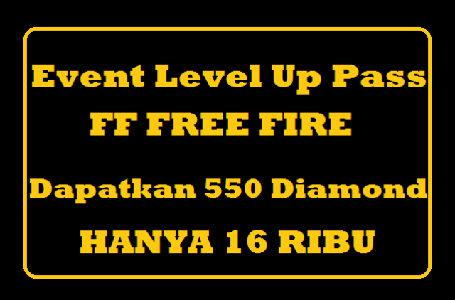 Level Up Pass FF Free Fire