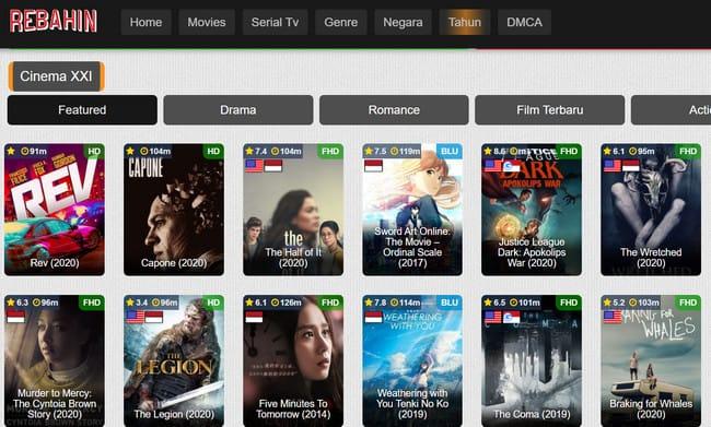 Rebahin Apk Aplikasi Streaming Film Terbaru 2020