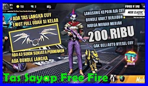 Tas Sayap Free Fire