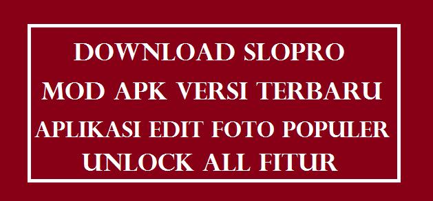 Slopro Mod Apk