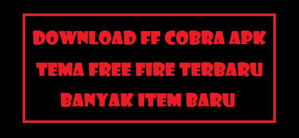 FF Cobra Apk