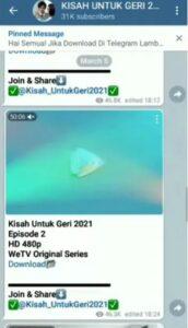 Link Telegram Kisah Untuk Geri