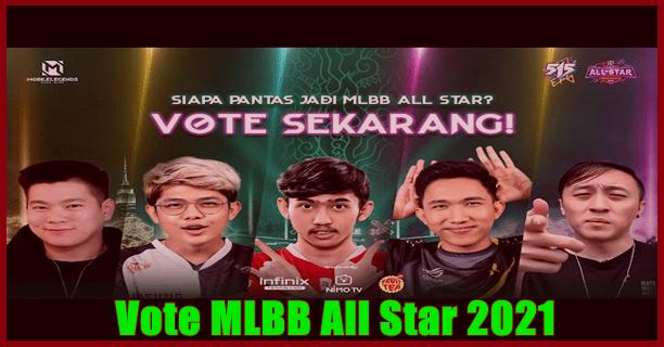 Vote MLBB All Star 2021