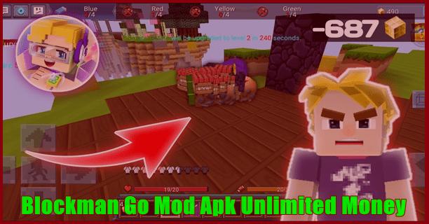Blockman Go Mod Apk Unlimited Money