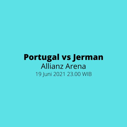 Allianz Arena - Portugal vs Jerman