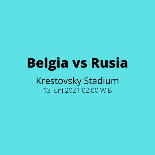 Krestovsky Stadium: Belgia vs Rusia