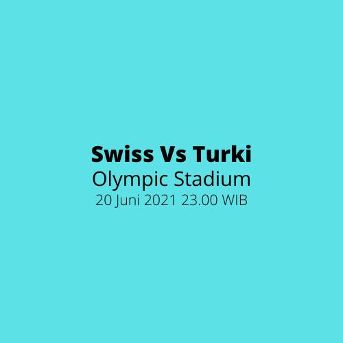 Olympic Stadium - Swiss vs Turki