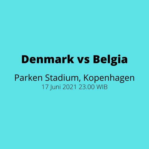 Parken Stadium - Denmark vs Belgia