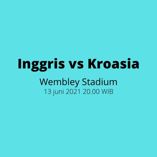 Wembley Stadium: Inggris vs Kroasia