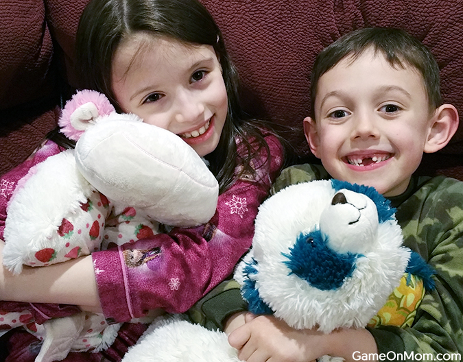 play travel and comfort pillow pets