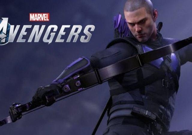 Marvel's Avengers hawkeye