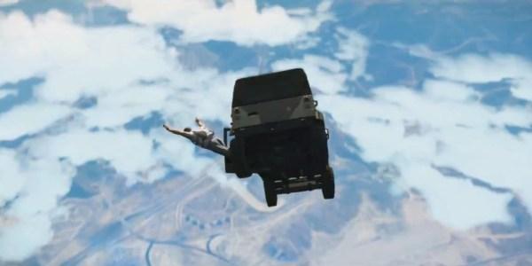 GTA5 sky drop
