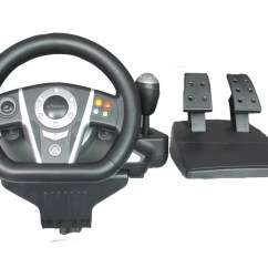 Steering Wheel Pc Ceiling Fan 3 Speed Switch Wiring Diagram Ps3 Ps4 Video Game Compatible Win10