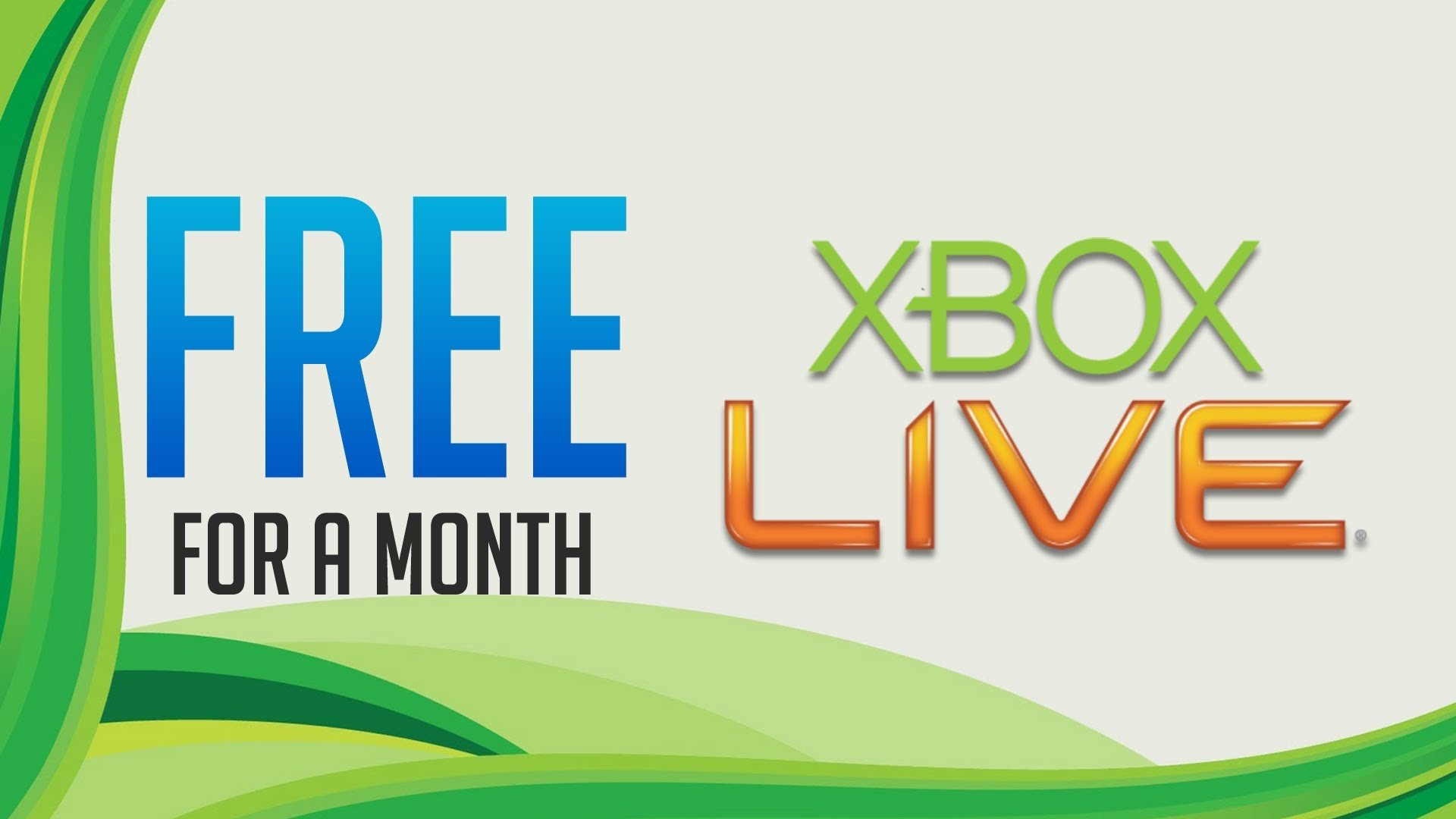 Free 1 Month Xbox LIVE Gold Trial GamePhD
