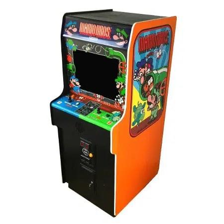 Mario Bros Arcade Cabinet