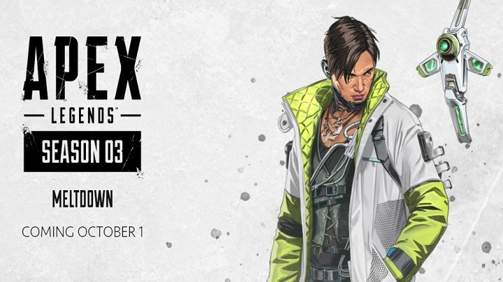 Nowy sezonは、Legenda w Apex Legendsをtak¿ -ZapowiedŸ3. sezonu w Apex Legends-データスタートトレイラーnowej postaci-wiadomoœæ-2019-09-19