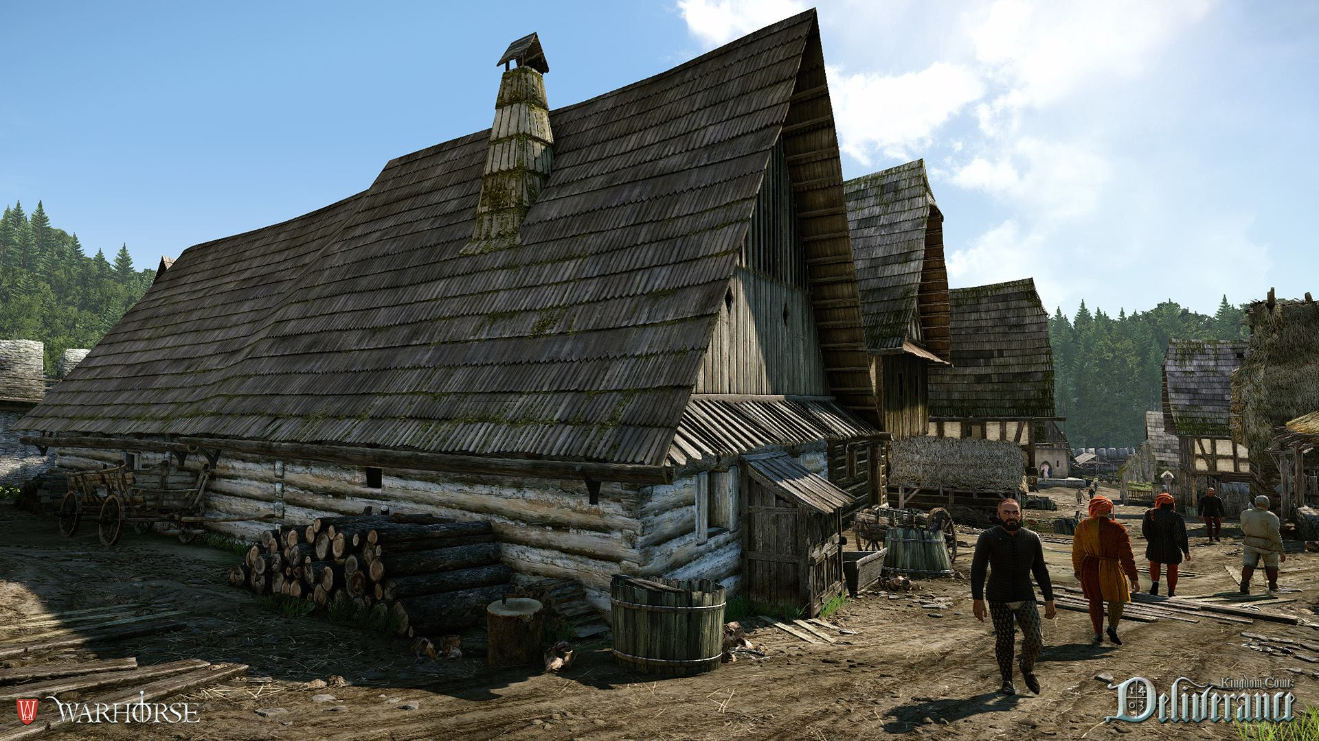 New Impressive Kingdom Come Deliverance Screenshots Demonstrates CryEngine 3 Power