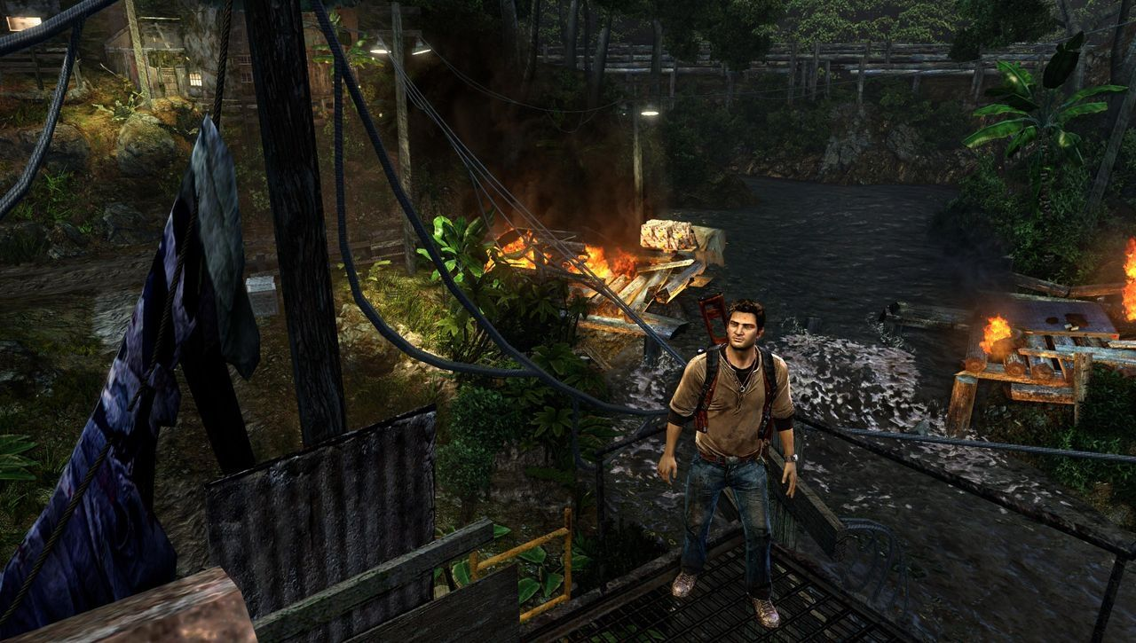 Gameplay Golden Abyss Uncharted
