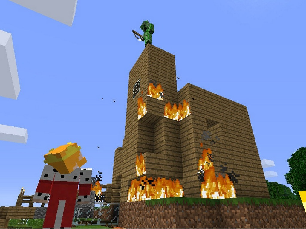 Minecraft Xbox 360 Skin Pack To Offer 40 SKINS First Screenshots Released