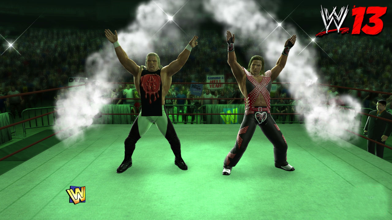 Wwe Dx Hd Wallpaper Wwe 13 Four New Screenshots Show D Generation X