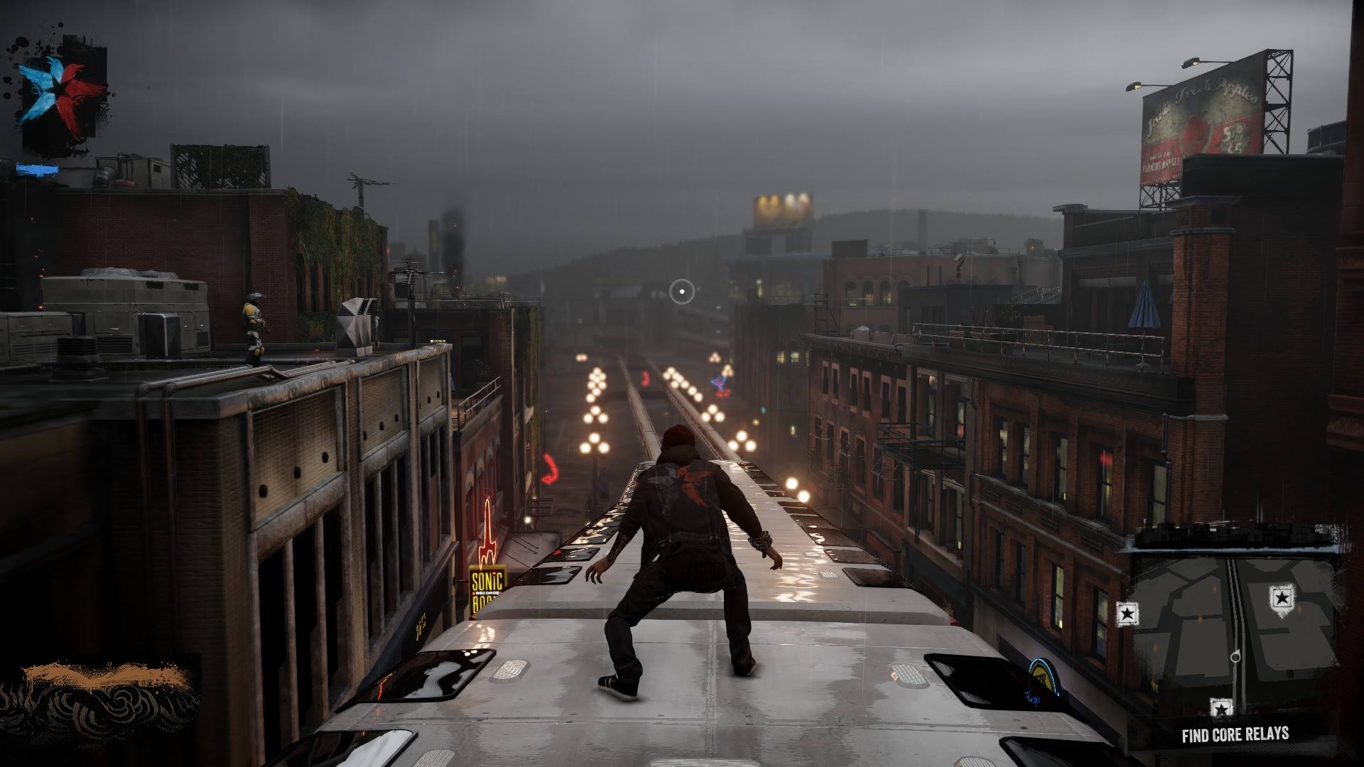 New Infamous Second Son In Game GIF Amp Screenshots Show Seattle Citys Beauty Really Impressive