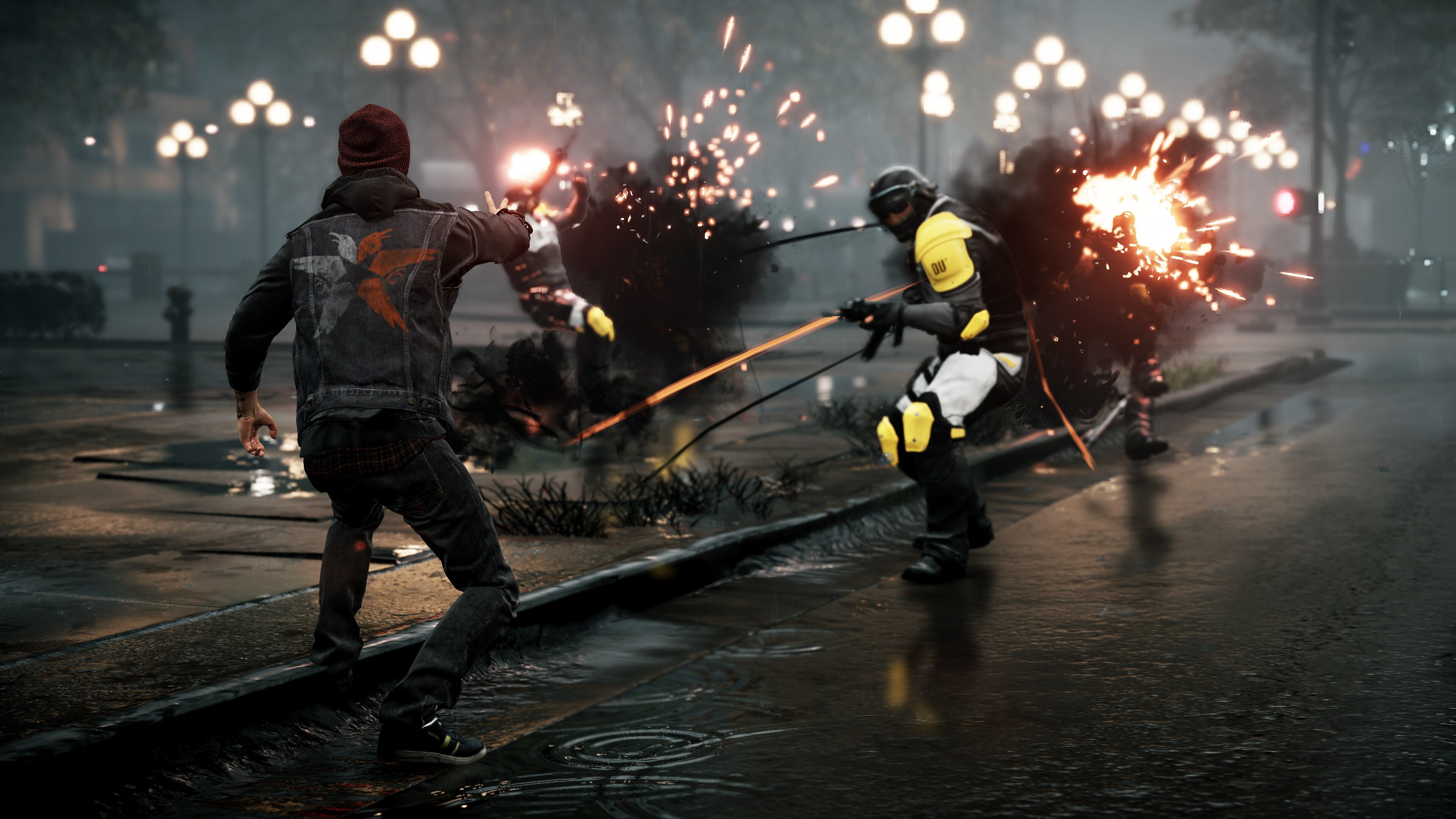 Infamous: Second Son Review: Fast paced action. spectacular graphics. shows true potential of PS4