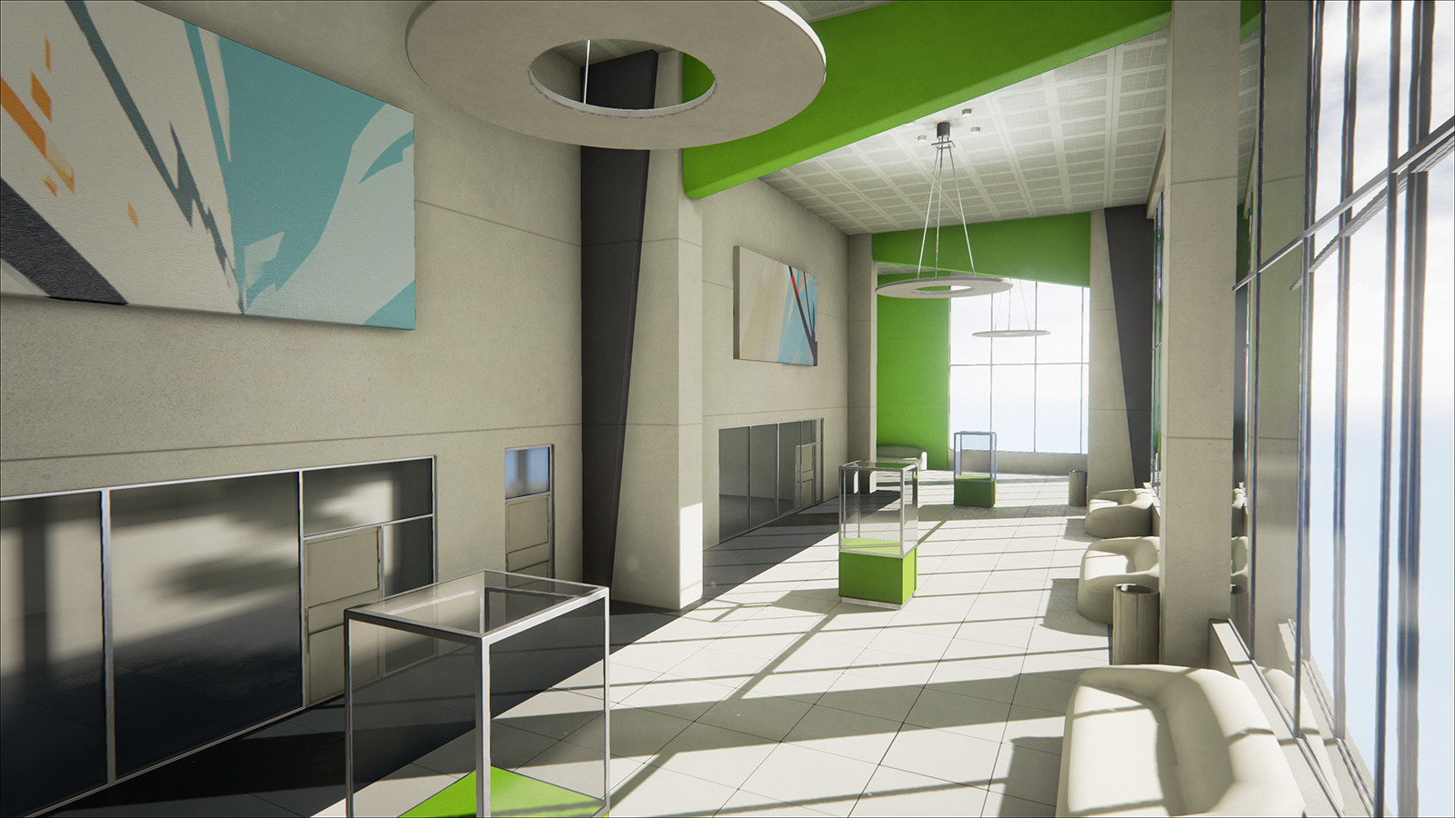 Mirrors Edge Map Re Created With Unreal Engine 4