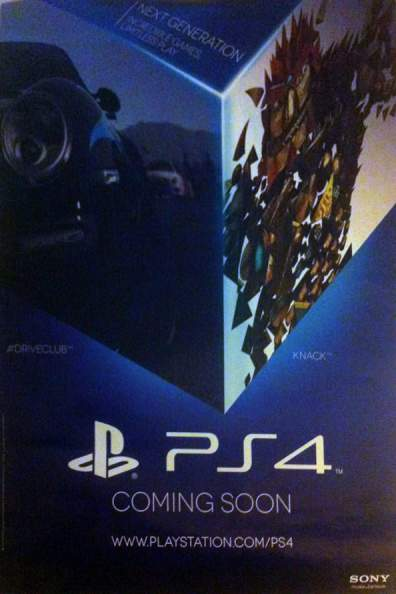 New PS4 Promotional Poster Leaked Says Next Generation