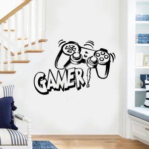 stickers gamer nos decors de gaming